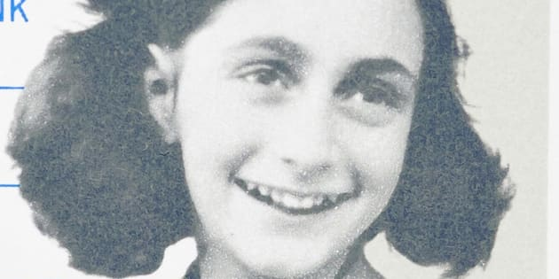 NETHERLANDS - CIRCA 1980: postage stamp printed in Netherlands showing an image of Anne Frank, circa 1980.