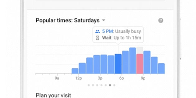Google's latest update to display waiting time at restaurants on Maps, Search
