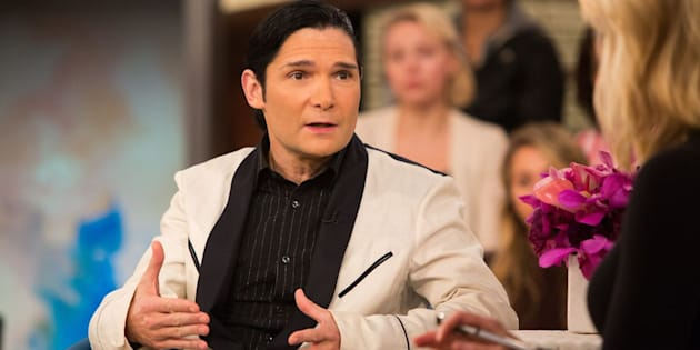 MEGYN KELLY TODAY -- Pictured: Corey Feldman and Megyn Kelly on Monday, October 30, 2017 -- (Photo by: Nathan Congleton/NBC/NBCU Photo Bank via Getty Images)
