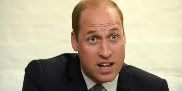 Príncipe William preside a federação inglesa de futebol.