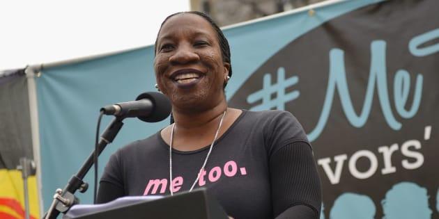 Activist Tarana Burke created the #MeToo movement 10 years ago.