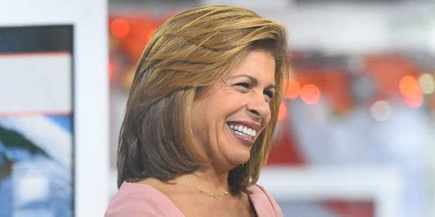 NEW YORK, NY - NOVEMBER 29:  Hoda Kotb is seen on the set of 'The Today Show' on November 29, 2017 in New York City.  (Photo by Raymond Hall/GC Images)