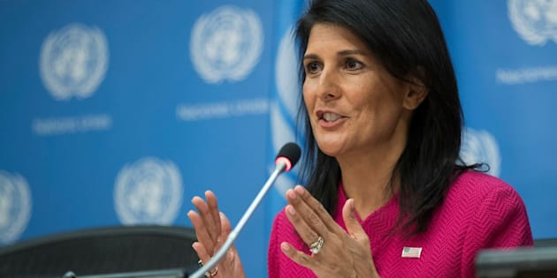"""We are against all forms of discrimination, including against people based on sexual orientation,"" Nikki Haley wrote."