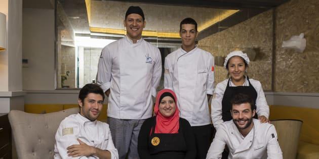 Algunos de los chefs participantes en la edición de Madrid del año pasado.