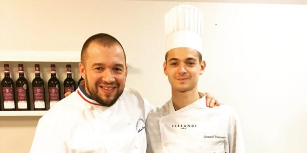 Léonard Trierweiler, le fils de Valérie Trierweiler, a cuisiné pour Emmanuel Macron