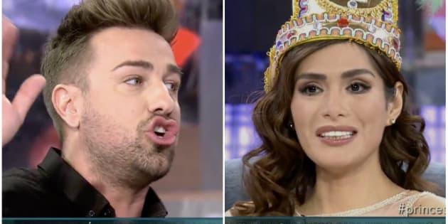 Rafa Mora y Miriam Saavedra se enzarzan en 'Sábado Deluxe'.
