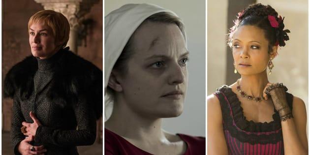 'Game of Thrones', 'The Handmaid's Tale' e 'Westworld': Três produções com forte protagonismo feminino disputam o cobiçado prêmio de Melhor Série Dramática.