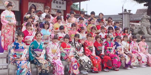 HKT48 宮脇咲良さんの投稿より / Twitter