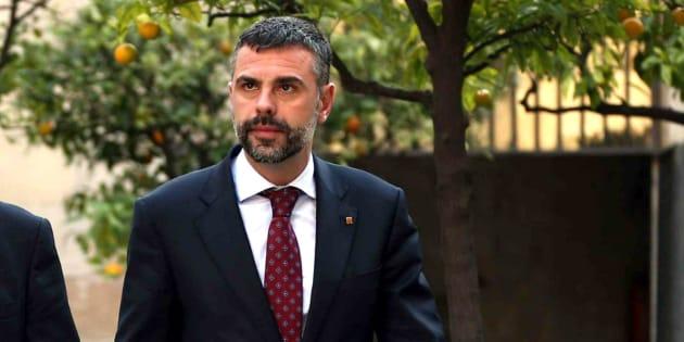 Santi Vila, hasta ahora consejero de Cultura, nuevo tiutular de Empresa y Conocimiento en Cataluña, en una imagen de archivo.