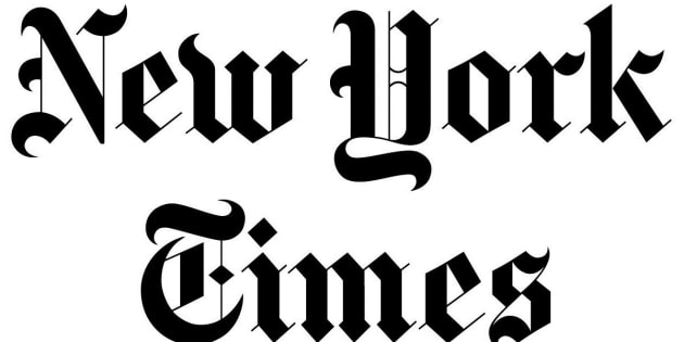 Cabecera de 'The New York Times'.