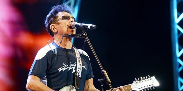 Edoardo Bennato al concerto del Primo maggio a piazza San Giovanni - foto di Gloria Imbrogno