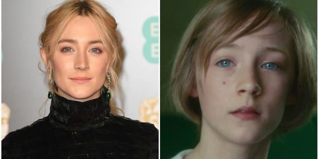 Saoirse Ronan já estrelou 'Desejo e Reparação' (2007) e concorre ao seu primeiro Oscar pelo trabalho em 'Lady Bird'.