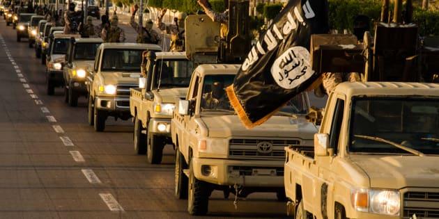 Les polices européennes et américaine paralysent les organes de propagande en ligne de Daech (Image tirée d'un film de propagande de Daech).