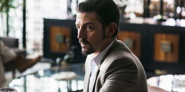 Em 'Narcos: México', Diego Luna dá vida ao traficante Félix Gallardo.