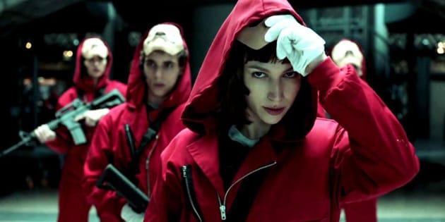 """Mais c'est quoi """"La Casa de papel"""", la série espagnole qui cartonne sur Netflix?"""