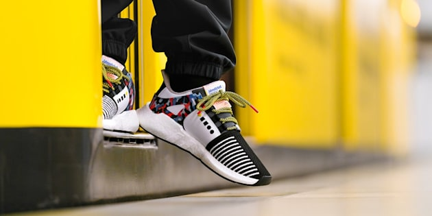 À Berlin, la dernière basket Adidas vous permet de prendre les transports gratuitement.