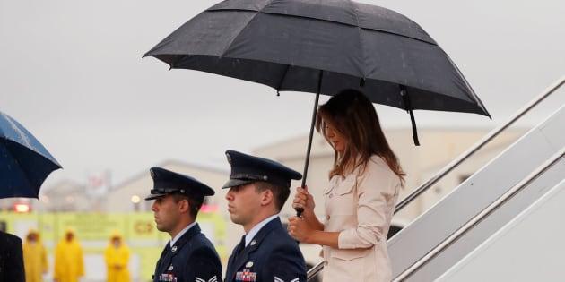 Melania fue una de las personas que más presión ejerció sobre Donald Trump para dar marcha atrás a una política que dejó imágenes y videos desgarradores.