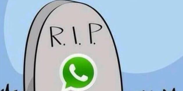 WhatsApp crolla, servizio fuori uso: troppi auguri di fine anno?