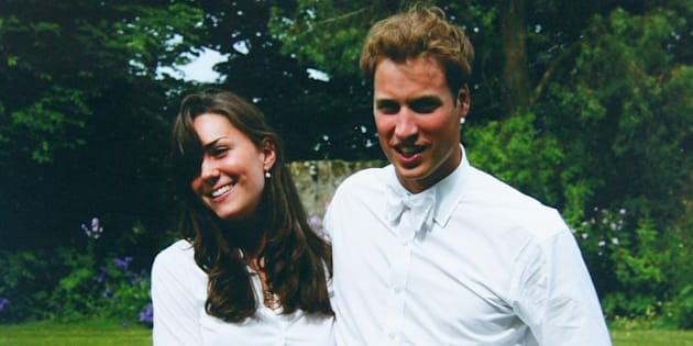 Prince William et Kate Middleton à l'université.