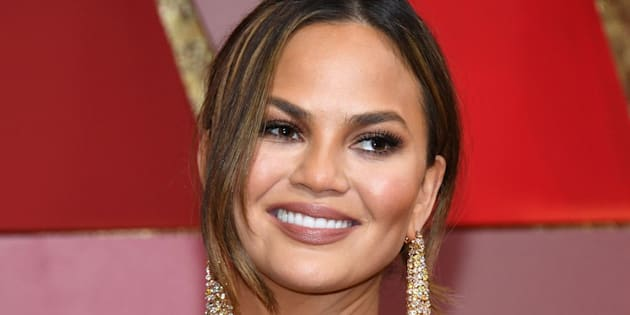 HOLLYWOOD, CA - FEBRUARY 26:  Model Chrissy Teigen attends the 89th Annual Academy Awards at Hollywood & Highland Center on February 26, 2017 in Hollywood, California.  (Photo by Kevork Djansezian/Getty Images)