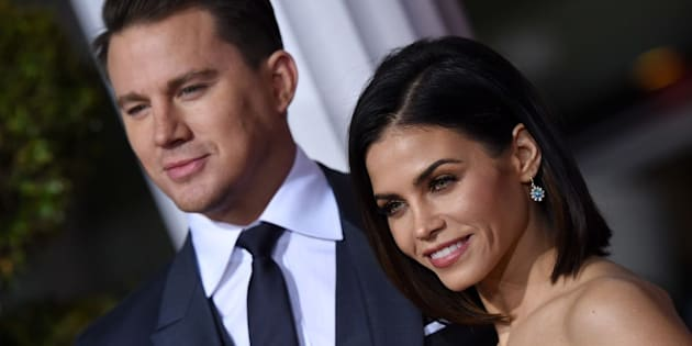 WESTWOOD, CA - FEBRUARY 01:  Actors Channing Tatum and Jenna Dewan-Tatum arrive at the premiere of Universal Pictures' 'Hail, Caesar!' at Regency Village Theatre on February 1, 2016 in Westwood, California.  (Photo by Axelle/Bauer-Griffin/FilmMagic)