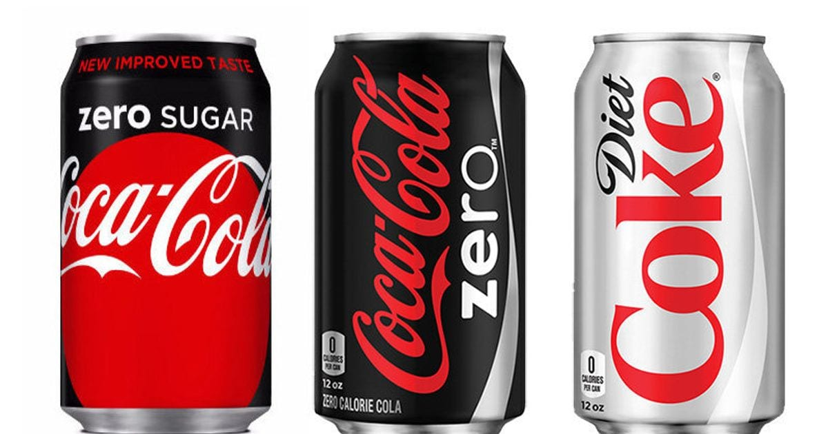 here 39 s the difference between diet coke coke zero and