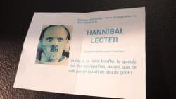 Il a voté pour Hannibal Lecter et a une explication pour