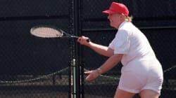 Questa foto di Trump che gioca a tennis ritorna a galla e gli internauti si danno alla pazza