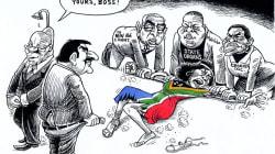 Five Zapiro Cartoons That Crossed The