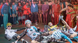 There Was A Spill During The Tour De France And Twitter Got