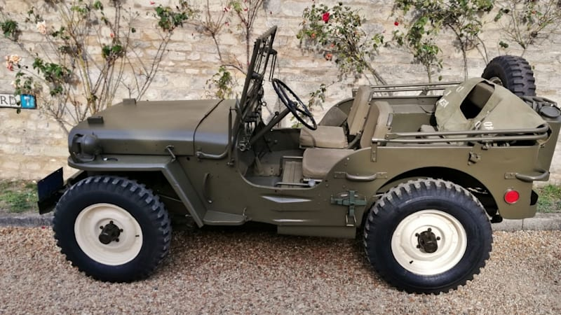 Steve McQueen owned Willys Jeep goes up for auction - Autoblog