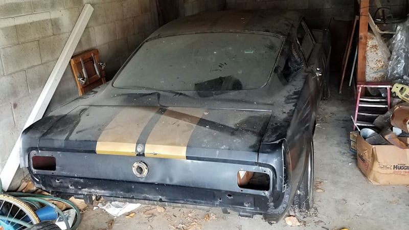 Barn find 1966 Ford Mustang Shelby GT350H is one sweet discovery