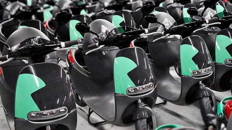 Gogoro and Bosch launch electric scooter-sharing service in Paris