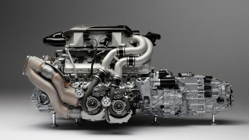 This 1:4 scale Bugatti Chiron engine costs $10,000