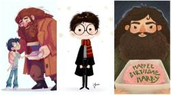 Aniversário de Harry Potter: 38 ilustrações para comemorar os 38 anos do