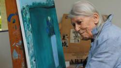 Muere la pintora mexicana Joy Laville, a los 94