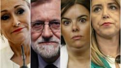 Políticos que empezaron bien el 2018 y lo acabaron