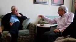 López Obrador se reúne con Noam