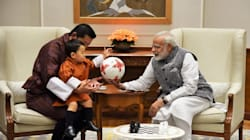 PHOTOS: India Can't Get Enough Of Bhutan's Incredibly Cute, 2-Year-Old Crown