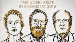 Arnold, Smith y Winter, Nobel de Química 2018 por sus avances en el desarrollo de
