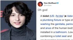 O dia em que Finn Wolfhard descobriu da pior maneira possível o que é um