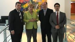 Angela Merkel se compromete a apoyar a la oposición
