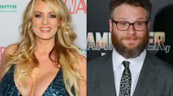 Seth Rogen Says Stormy Daniels Told Him About Alleged Trump Affair 10 Years