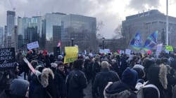 Hundreds Of Students Protest Doug Ford's Post-Secondary Cuts In