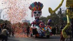 Así fue el desfile de Día de Muertos en CDMX dedicado a las víctimas del