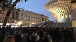 Miles de personas se echan a la calle en Andalucía contra la llegada de