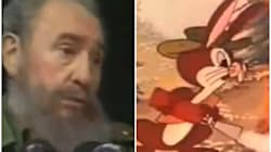 Varios dirigentes de Ciudadanos la lían al confundir a Fidel Castro con este dibujo