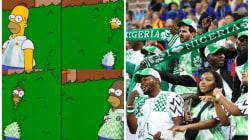 Llegaron los memes: Nigeria triunfa y la afición argentina comienza a