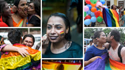 PHOTOS: Hugs, Kisses And Rainbows, Here's How India Celebrated Decriminalisation Of Gay