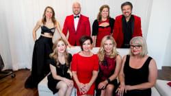 La 3e édition de la soirée Robe Rouge au profit de la Fondation des maladies du